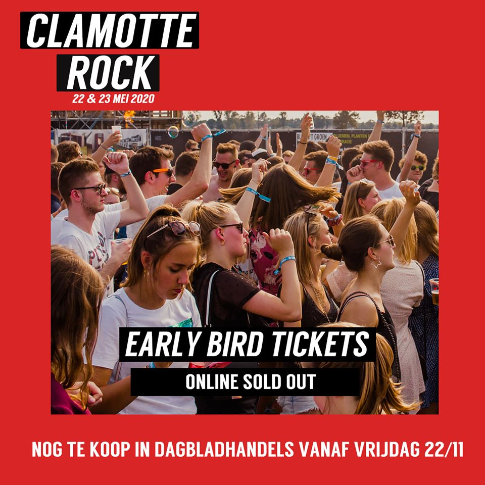 Clamotterock early bird